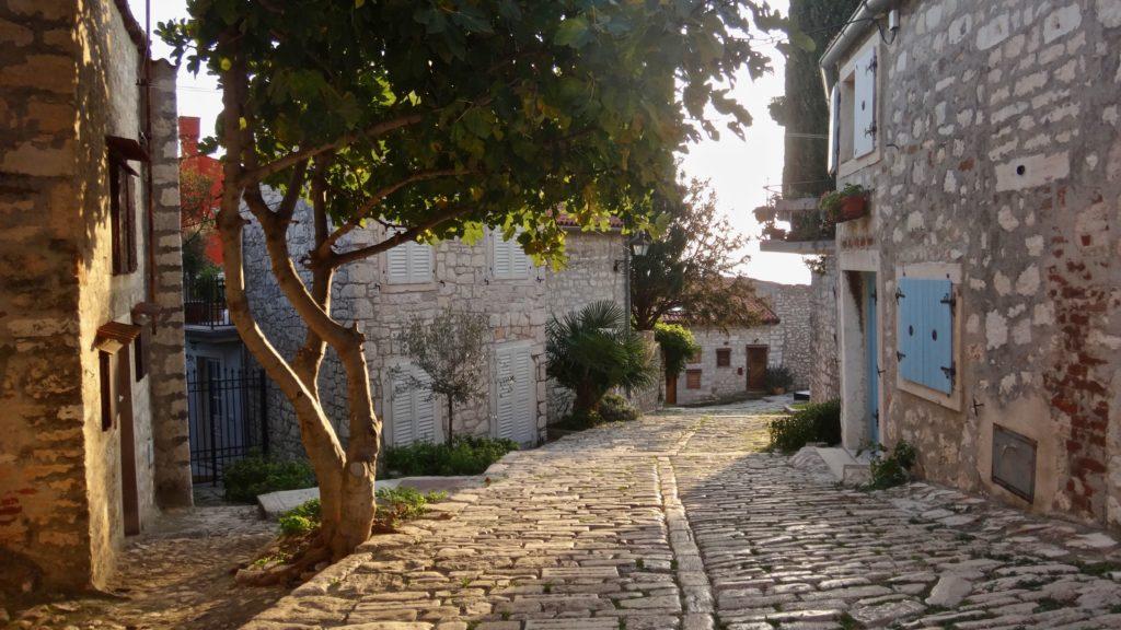 Malebné ulička bez turistů