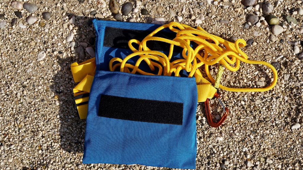 Handmade rescue rope