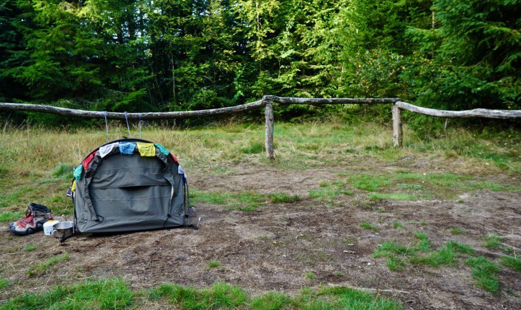 Temporary camping Nové Údolí
