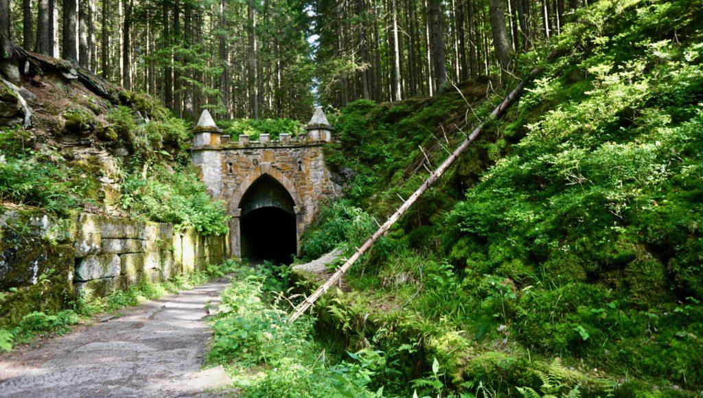 Gate at Schwarzenberg channel