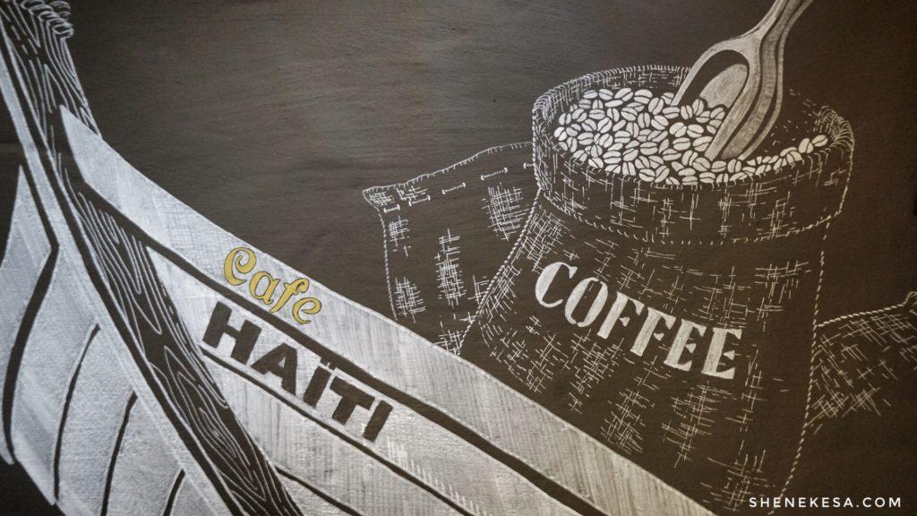 Kafé Haiti Reykjavík, dekoration