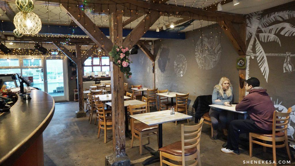 Kafe Haiti Reykjavík, interior