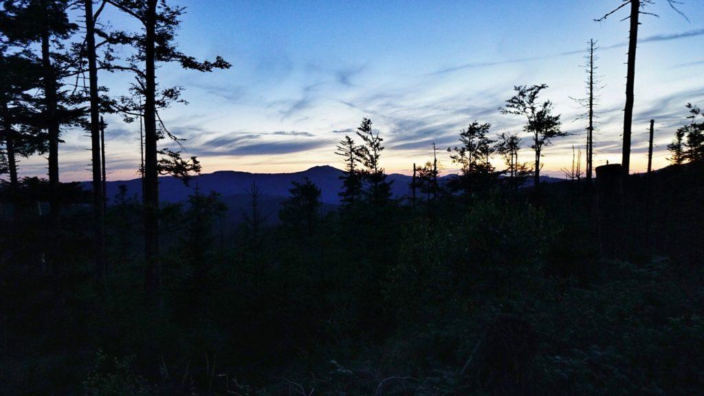 Večerní cesta na Polom