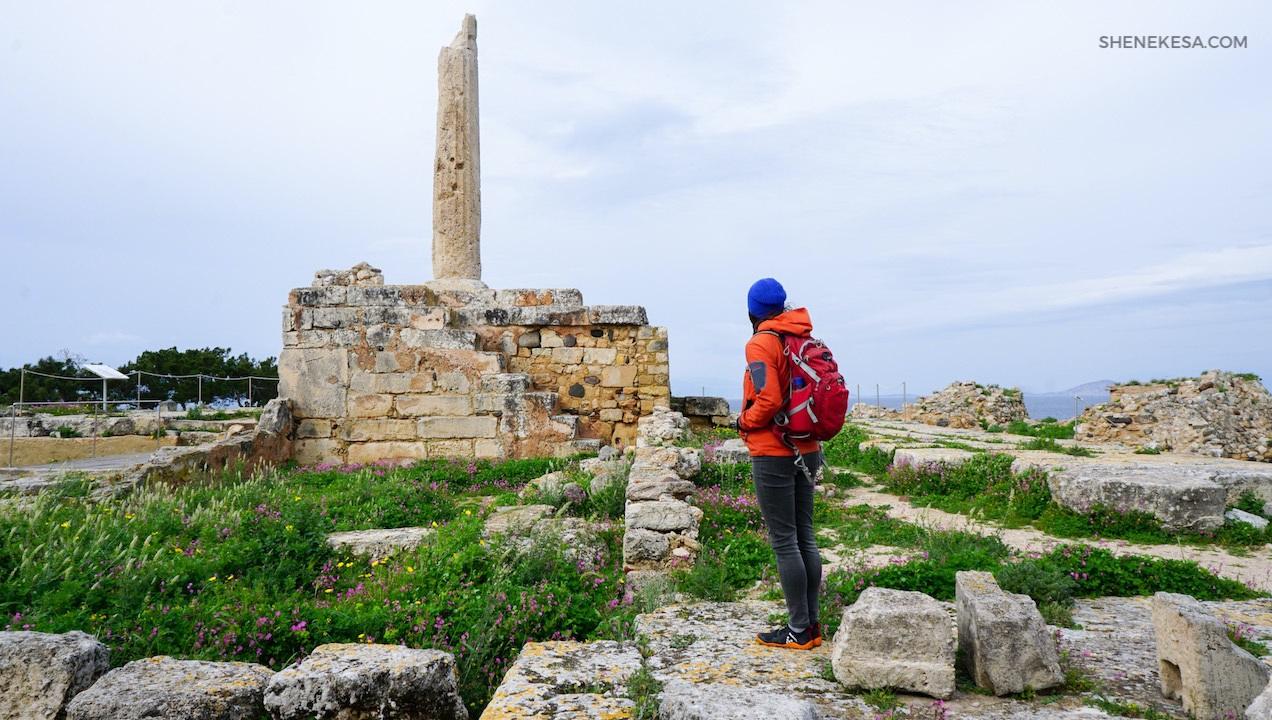 Aegina, Kolonos