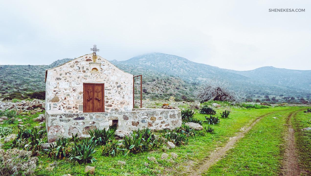 Aegina church
