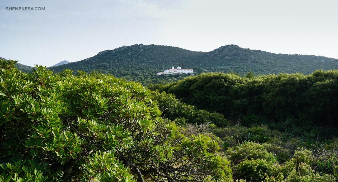 Aegina, monastery