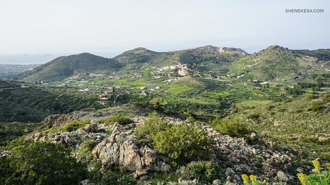 Aegina, church of saint Nektarios