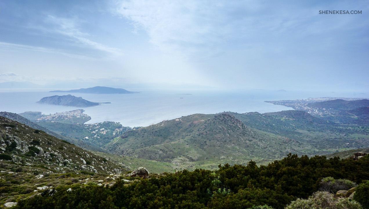 Aegina, bay