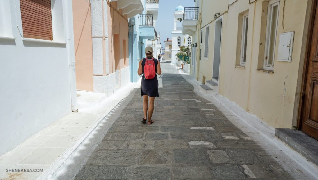 Toulání se Chorou, ostrov Andros