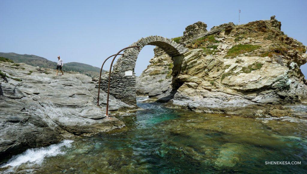 Bývalá pevnost, ostrov Chora
