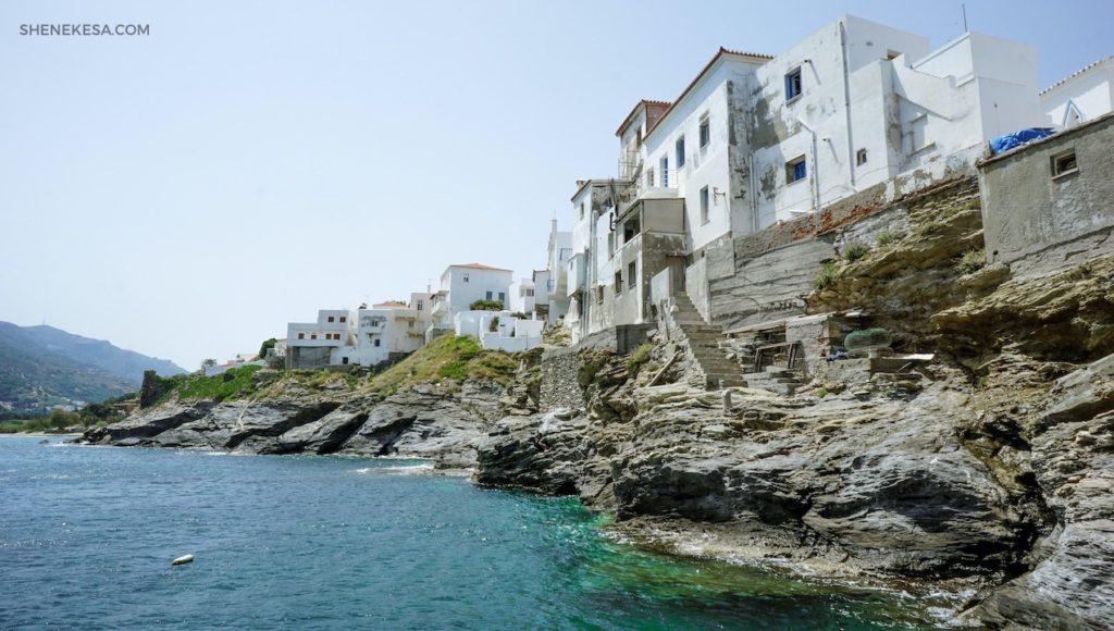Chora, ostrov Andros