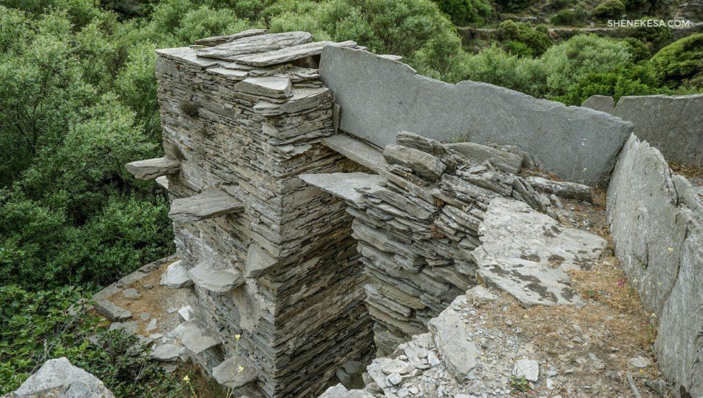Starý mlýn, ostrov Andros