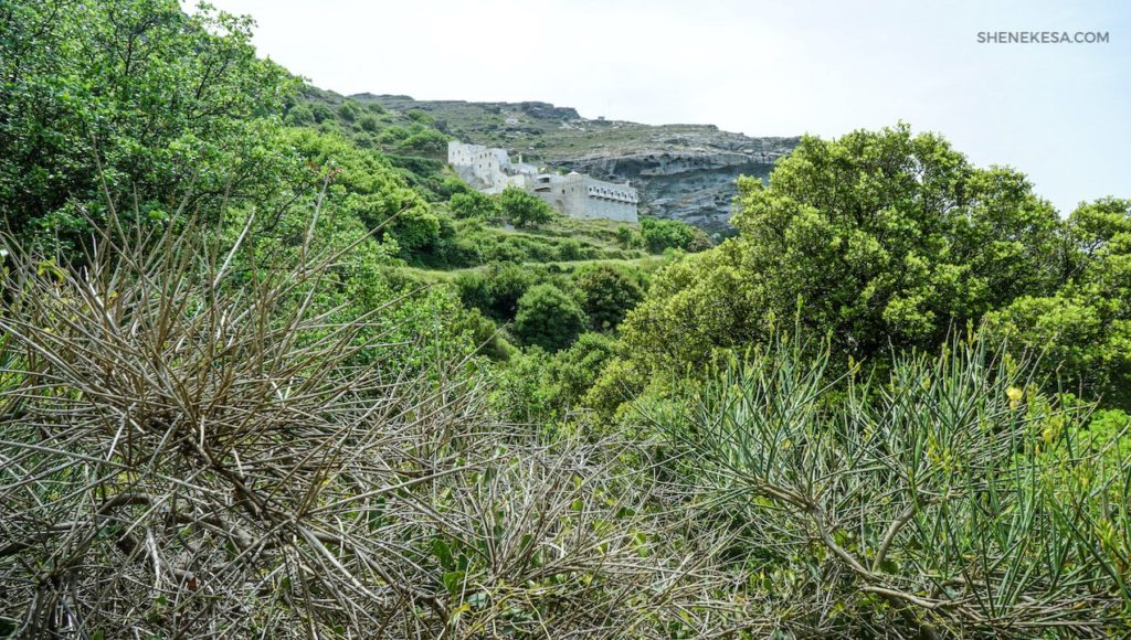 Klášter Panachrantou, ostrov Andros