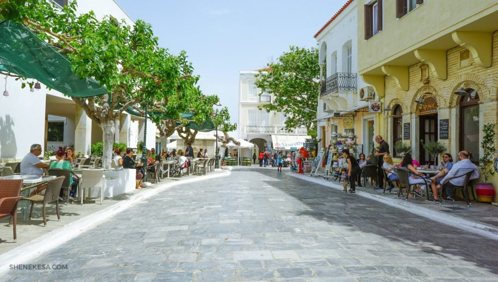 Andros Chora město