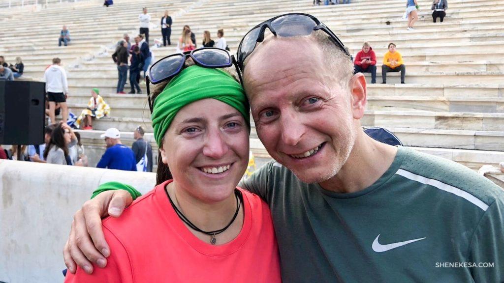 She Nekesa, maraton Atény