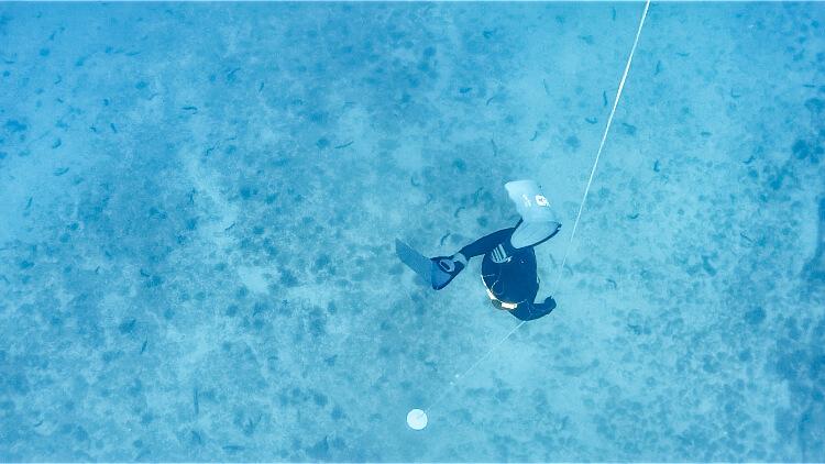 Freediving - trénink